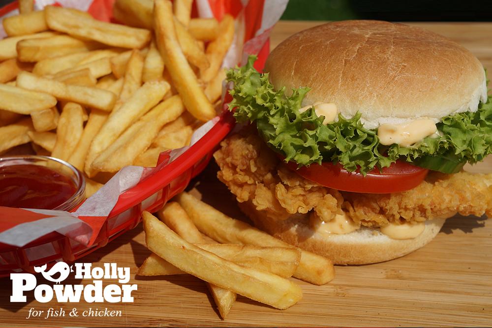 Zestaw z chrupiącym kurczakiem w panierce Holly Powder